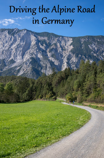 Driving the Alpine Road in Germany