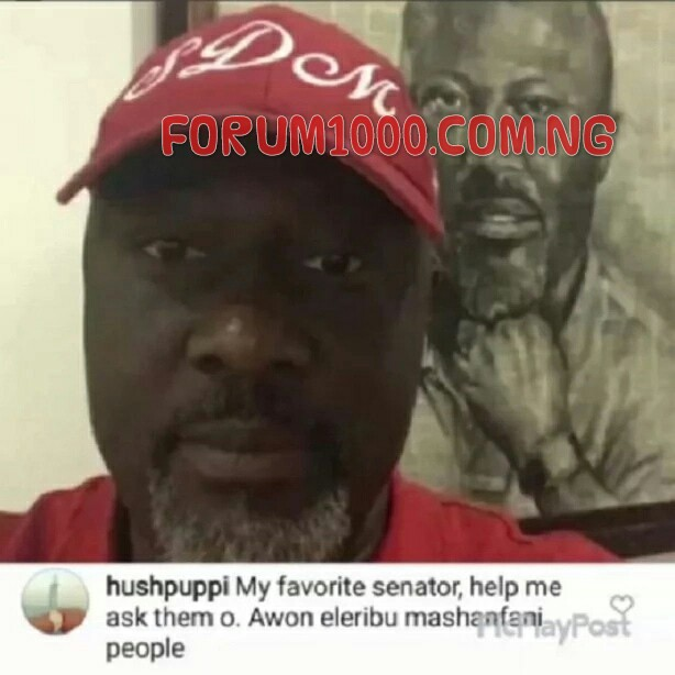 (PHOTO) HUSHPUPPI SUPPORTS DINO MELAYE ON INSTAGRAM