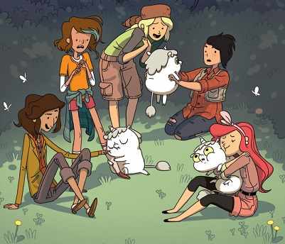 Lumberjanes and unicorns