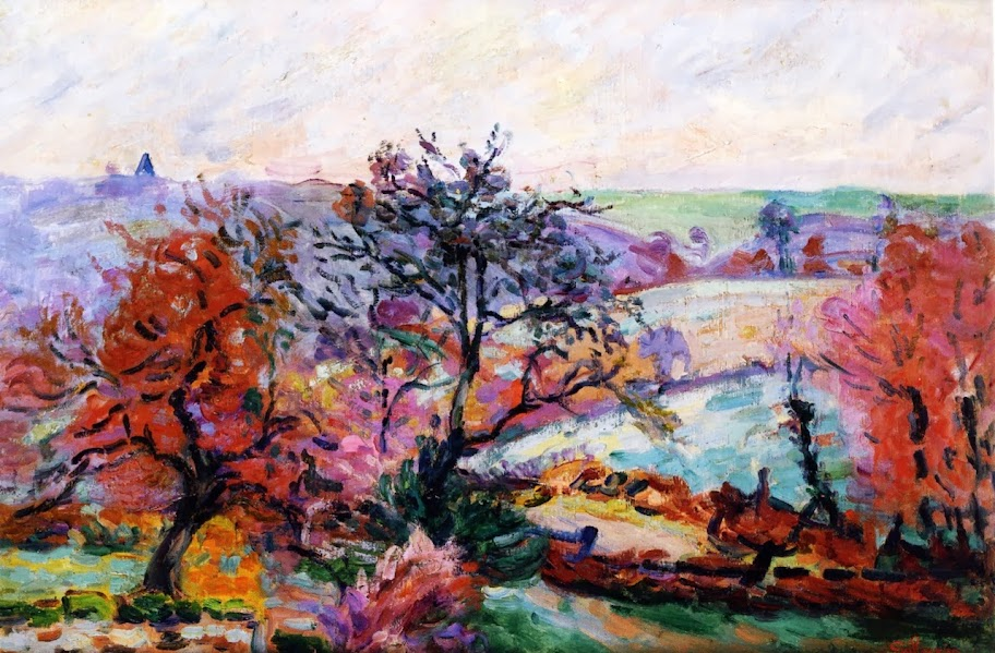 Armand Guillaumin - View of Crozant, 1900
