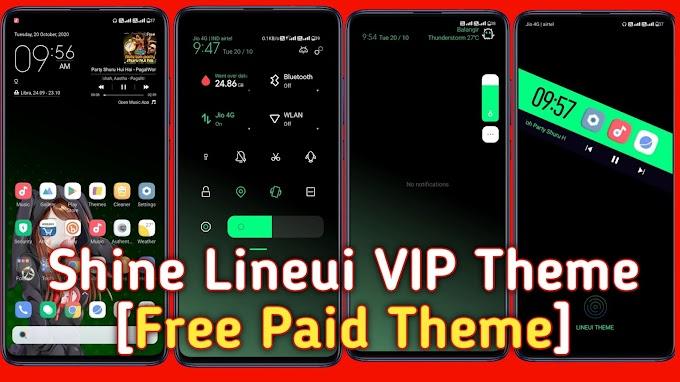 Shine Line UI VIP Theme |Miui 12|