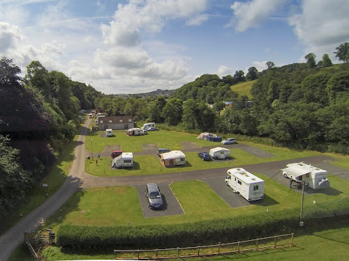 Jedburgh Camping and Caravanning Club Site at Jedburgh Camping and Caravanning Club Site