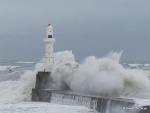 Photo: South Breakwater, Aberdeen Harbour