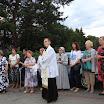 25.06.2017 nabożeństwo czerwcowe przy Krzyżu misyjnym na skarpie przy ul. Tumidajskiego