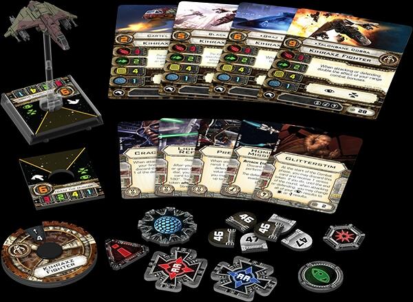 Wave 7 X-Wing KIHRAXZ FIGHTER