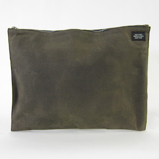 *SALE*  Jack Spade Oiled Canvas Pouch