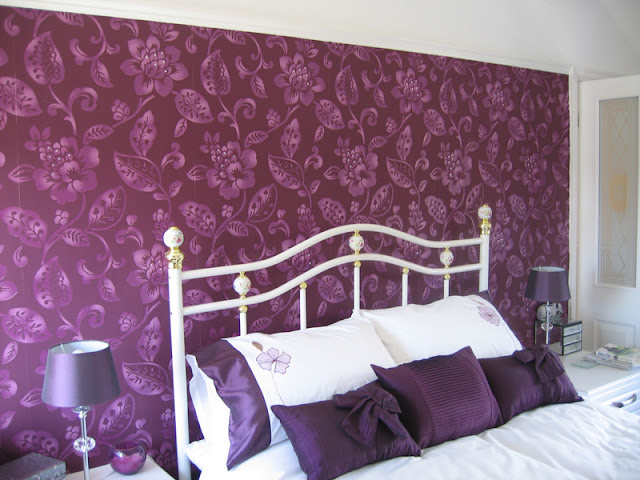 Feature wall in Maghull