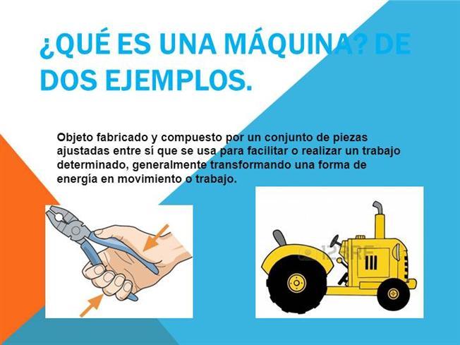 taquiamila: Máquinas simples y máquinas compuestas