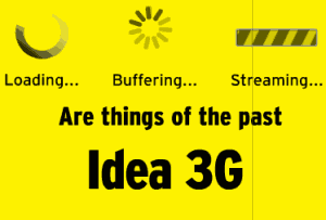 Idea New Working Unlimited 3G Trick With High-Speed Browsing And Downloading Support.