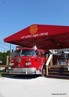 Bar on a Firetruck