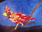 Collage Bird by Austin