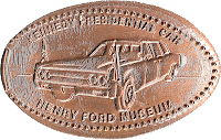 Kennedy Assassination Car penny