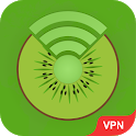Unlimited Kiwi VPN Free - Secure Proxy & Unblock icon