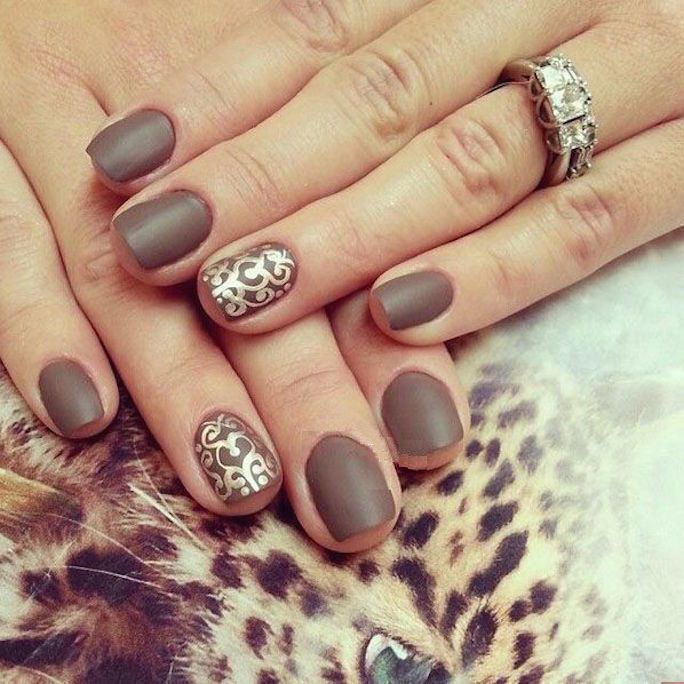 Beautiful Light Brown Nail Art Ideas Styles Art