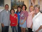 Chris Schrobilgen, Linda Engle, Colleen Steyn, Robin Buchanan, Pam Fitch and Vivan Newton.
