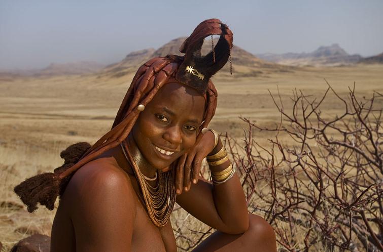 женщины племени Химба