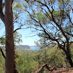View to across Pearl Beach to Mt Ettalong (219452)