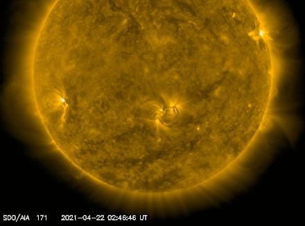 NASA : Προειδοποίηση για γεωμαγνητική καταιγίδα στην Γη το Σαββατοκύριακο