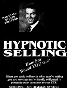 Cover of Marshall Sylver's Book Hypnotic Selling Manual