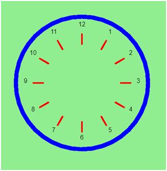 Designing a Clock using Python Turtle