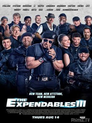 Phim Biệt đội đánh thuê 3 - The Expendables 3 (2014)