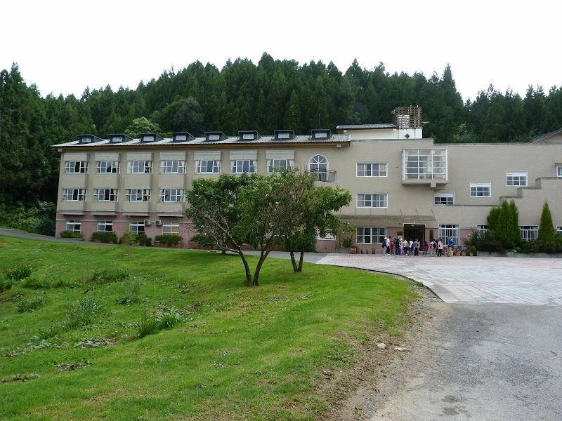 Meifeng Farm �峰農場 Notre hôtel, plus modeste mais impeccable. En fait nous sommes au département agronomie de l'université NTU