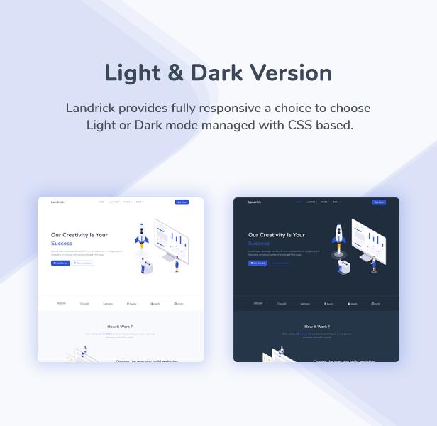 Landrick - Saas & Software Landing Page Template - 3