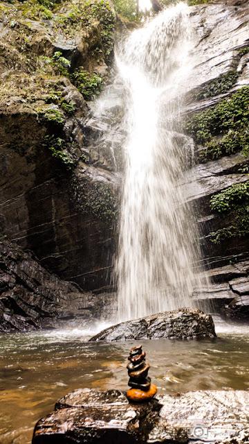 The Maghebailu falls