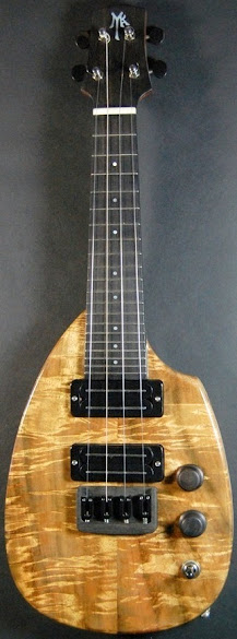 David Myka Guitars electric soprano ukulele