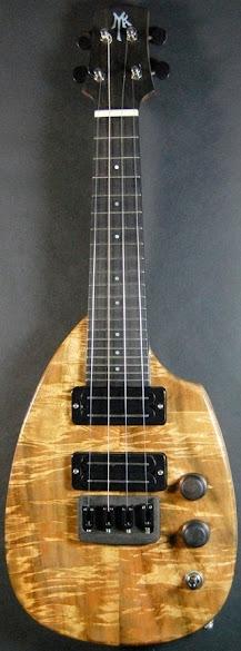 David Myka Guitars electric soprano ukulele