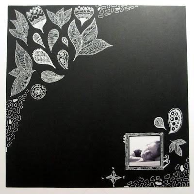 Mustavalkoinen doodlausleiska