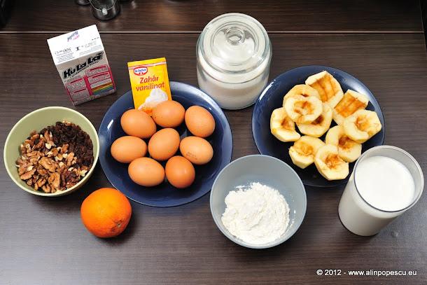 Razvan Anton - tort de mere cu crema de zahar ars