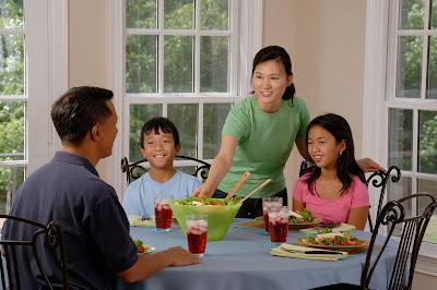 Ailece yemek yemek