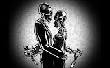 Two Skeletons Love And Danger