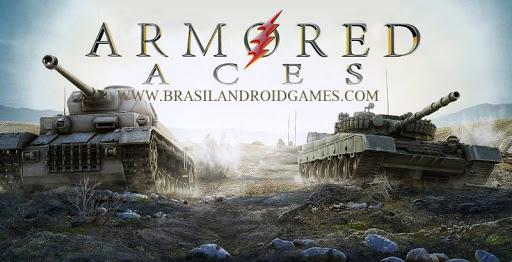 Armored Aces - 3D Tank War Online Imagem do Jogo