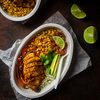Paleo Chipotle Chicken Burrito Bowl