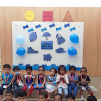 Blue Day Celebration by Playgroup Morning Section at Witty World, Chikoowadi (2018-2019)