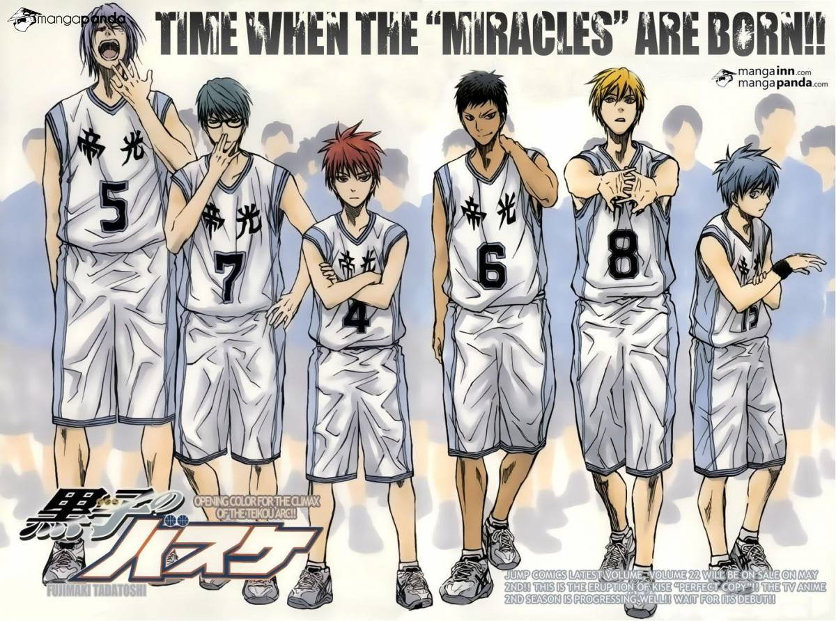 Kuroko no Basket Manga Chapter 206 - Image 02