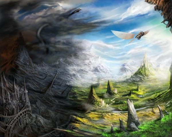 Sorrow Of Horror Territory, Fantasy Scenes 3