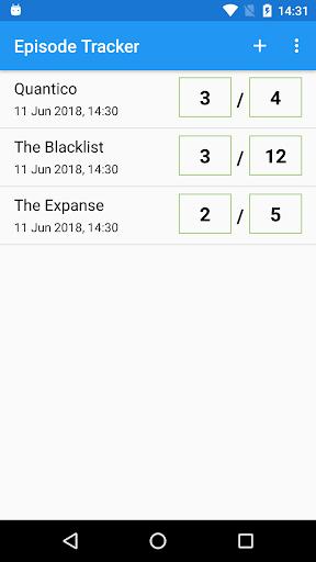Episode Tracker 2.11.2 screenshots 1