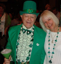 """Photo: The Leprechaun and the Paparazzi! The Kemah """"Paparazzi,"""" (that would be me) Tom Richards and ClaireDurkee Worthington"""