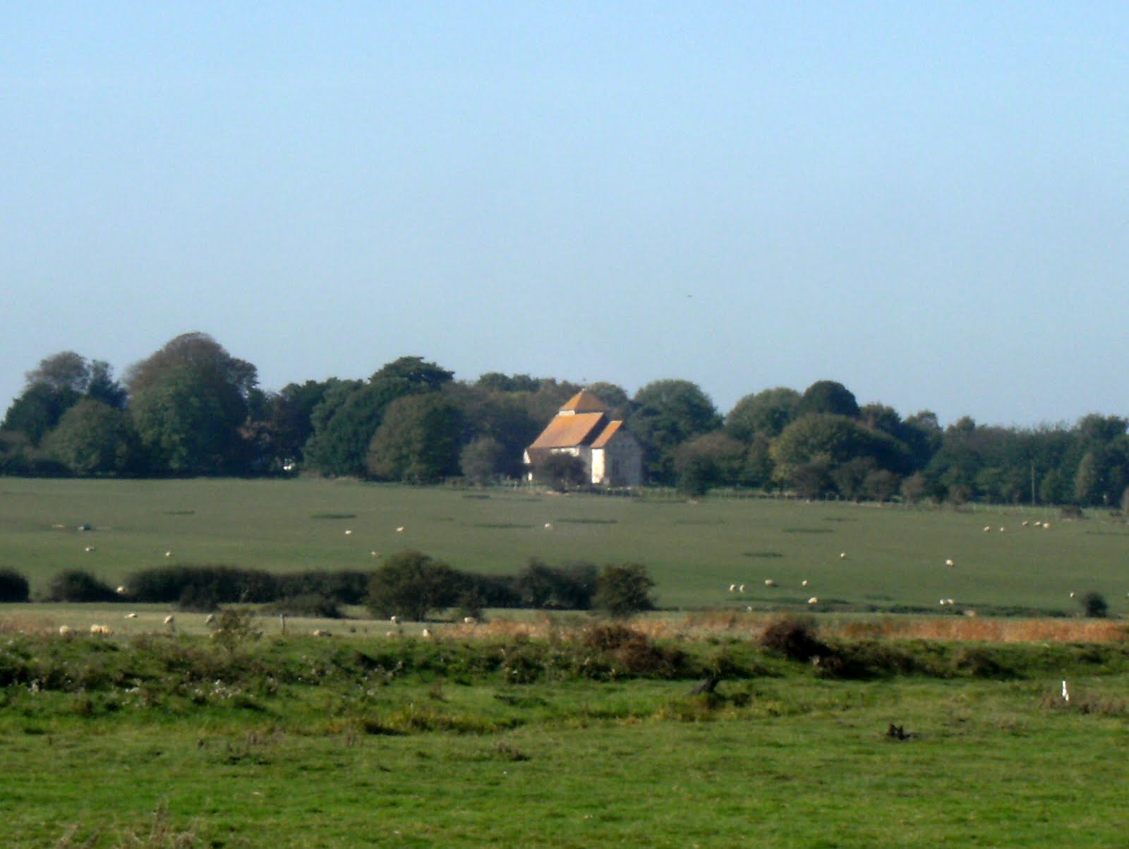 DSCF0058 Distant view of Kenardington Church