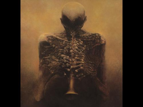 Zdzislaw Beksinski Dead Music, Death