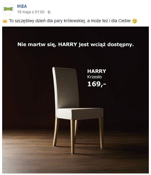 Ikea real time marketing przykłady