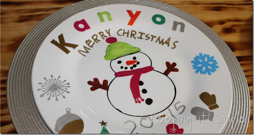 DIY-Personalized-Christmas-Dinner-Plates (22) & Christmas Family Tradition- DIY Personalized Christmas Dinner ...