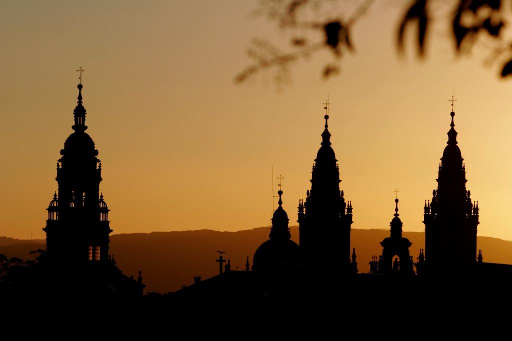 Torres de la Catedral de Santiago de Compostela - Camino de Santiago