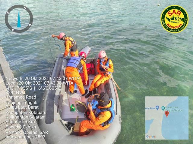 Nelayan asal Jateng yang Diduga Jatuh ke Laut Belum Ditemukan