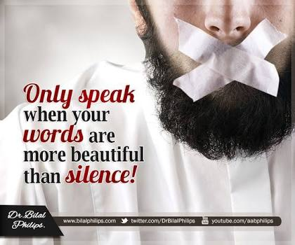 Bicara yang Baik atau Diam, Mana yang Utama?
