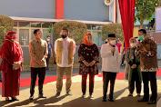 Wapres Tinjau Pelaksanaan PTM Terbatas dan Vaksinasi COVID-19 di Kabupaten Bogor