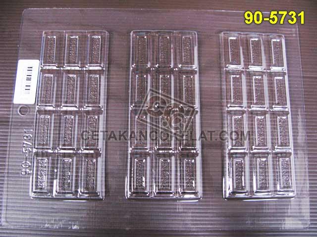 cetakan coklat cokelat chocobar bar batang 90-5731